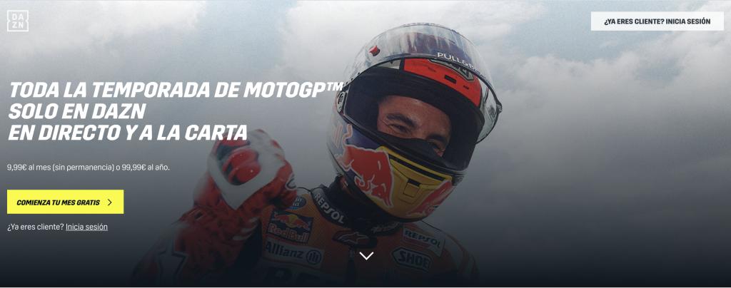 DAZN Moto GP