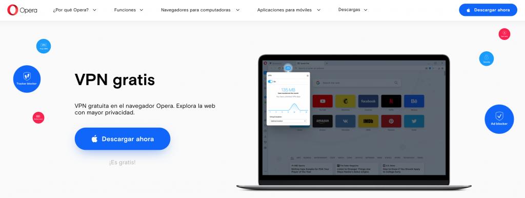 VPN de Opera